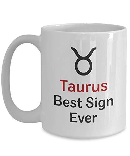 Taurus Mug | Best Sign Ever | Taza de cerámica...