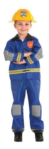 Rubies Officielle Fireman Déguisement, Enfants Costume – Large