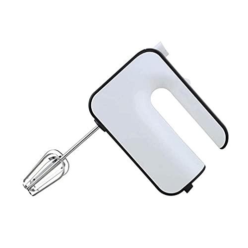 WGLL Mezclador de manos eléctrico, batidos para hornear, para fácil almacenamiento de accesorios de acero inoxidable True 304 (2 batidores con cable, 2 ganchos de masa, batidor) para mezclar para horn