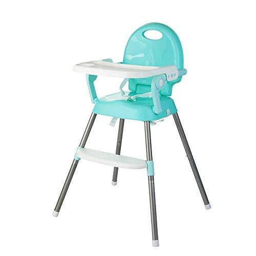 Kinderhochstuhl Multifunktionale Tragbarer Klappbarer Kinder-Esszimmerstuhl - Mit Herausnehmbarem Tablett