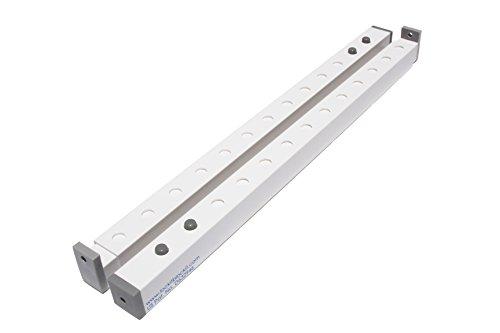 Lock-it Block-it – (2 Devices) Home Security Adjustable Window Locks/Window Security Bars, Door Jammer & Sliding Glass Door Security bar, Child Safety Lock & Patio Door Security bar