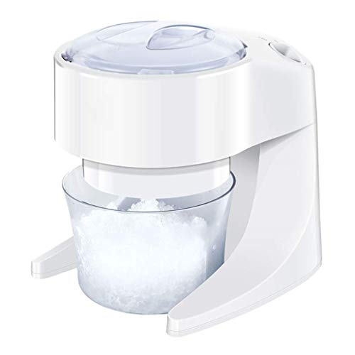 Ice blender Electric Ice Shaver Double Blade Snow Cone Maker Large Capacity Ice Shaving Crusher for Home and Commercial,Low Vibration and Noise for Easy Cleaning,comfortable and Safe best gift