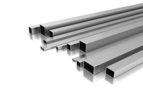 Edelstahl Rechteckrohr 50 x 20 x 2 mm x 1.500 mm +-5 mm