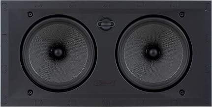 Sonance Black Visual Performance Series In-Wall Square Speakers - VP66LCR