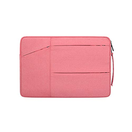 Cubierta De Manga para Huawei MateBook D14 D15 13 14 X Case Bolsa De Computadora Portátil Fits MacBook Air Pro M1 13 15 16 (Color : Pink, Size : For Matebook 14)