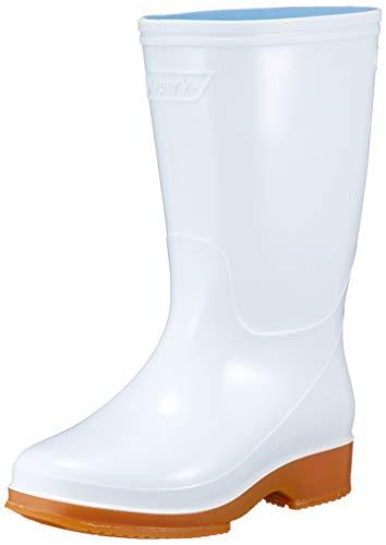 日進ゴム Hyper V R 白長靴 23.0cm #4000