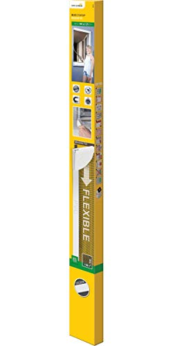 Schellenberg 50746 Mosquitera para Ventana magnetica, Montaje rápido sin taladrar, Blanca, con perfiles de plástico Muy Flexibles, 100 x 120 cm