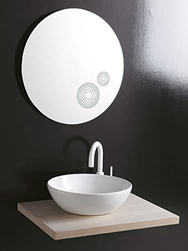 Leonardo Bagno Waschbecken, rund, ohne Bohren, Durchmesser 45_cm