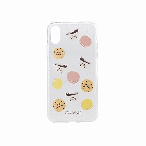 Mr. Wonderful WOA08962EN - Carcasa Transparente para Apple iPhone X, diseño Desayuno