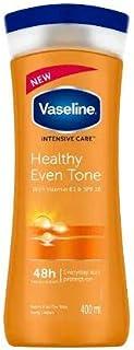 لوشن لتوحيد لون الجسم بفيتامين بي 3 ومعامل حماية ضد اشعة الشمس SPF10 للعناية المركزة من فازلين - 400 مل