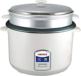 Nevica 5.6 LITRE Plastic Rice Cooker - NV-607RC
