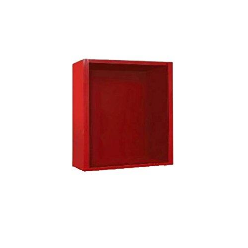 FireFox 0004190 sleutelkast, rood, 15 x 15 x 8 cm