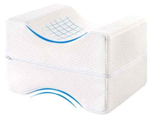 Mary´s Orthopädisches Kniekissen | Memory Foam | Geeignet für Seitenschläfer | Entlastung von Hüft-, Rücken- und Knie-Schmerzen | Druckentlastung | Schwangerschaft | Reha | Beinkissen