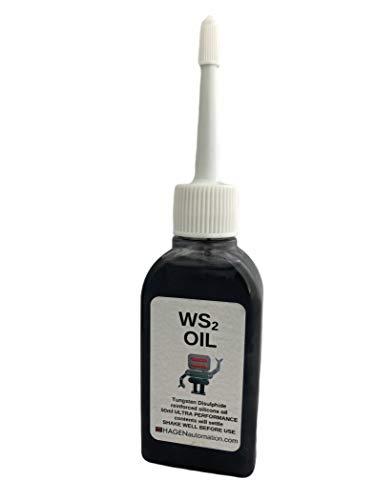 WS2 Aceite de tungsteno disulfuro lubricante ultra grado en aceite de silicona 50 ml para impresoras 3D y brazos de robot de escritorio