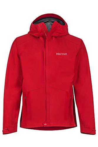 Marmot Minimalist Jacket Veste Imperméable, Veste de Pluie Homme, Hardshell, Coupe Vent, Respirant Homme Team Red FR: L (Taille Fabricant: L)