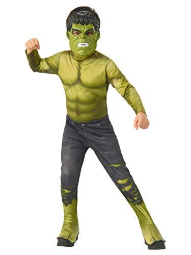 Avengers - Disfraz oficial de Hulk para niño, infantil 3-4 años (Rubie