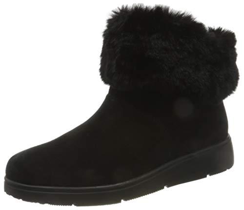 Geox Damen D ARLARA J Ankle Boot, Schwarz (Black), 39 EU