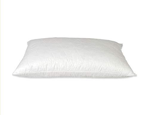 BBED Cojín para cama con copos de látex hipoalergénico, 1500 gramos, extra cómodo, 60 x 42 x 18 cm, ideal para dolores cervical/cervicales