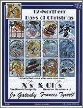 12 Northern Days of Christmas Cross Stitch Chart