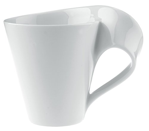 New Wave Caffe Coffee Mug Set of 6 by Villeroy & Boch - Premium Porcelain - Made in Germany - Dishwasher and Microwave Safe - Includes Mugs - 11 Ounce Capacity