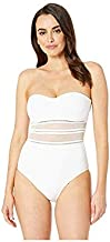 Jets by Jessika Allen Women's Aspire Bandeau One Piece Swimsuit