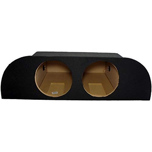 """Compatible with 2003-2008 Nissan 350Z Custom Dual 10"""" Subwoofer Enclosure Sub Box W/Amp Rack"""