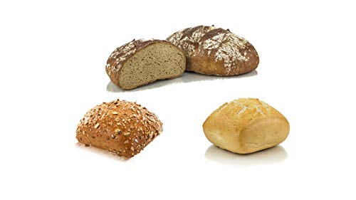 Vestakorn Handwerksbackwaren, Brot-Brötchen-Kombination - frisches Brot & Brötchen - 1x Frankenkruste, 3x Dinkel- & 3x Vestabrötchen