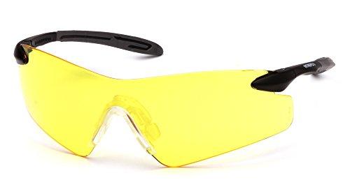Pyramex Safety Products esb8830s Intrepid II gafas de seguridad, 0.049kg tema peso, Amber (Pack de 12)