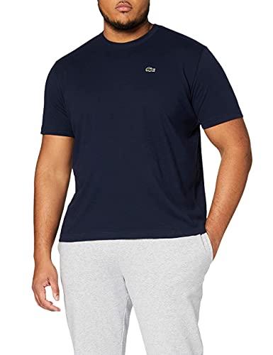 Lacoste - Th7618 Sport T-Shirt Uomo, Medium (Herstellergröße : 4), Blu (Marine)