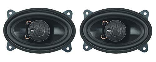 Dietz 2-Wege Koax-Lautsprecher,4x6 Zoll 9x15 cm, oval, 80 W. 1 Paar