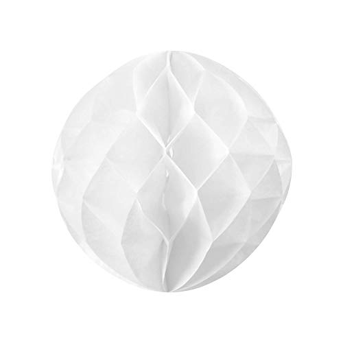 SKYLANTERN Boule Chinoise alvéolée 20 cm Blanc