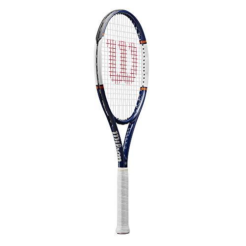 Wilson Raqueta de tenis, Roland Garros Equipe HP, Azul/blanco/naranja, WR030410U4