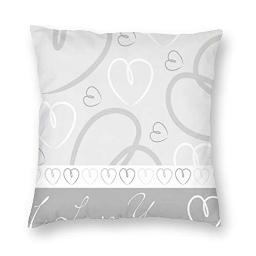 niBBuns Pillow Covers Cute Romantic…
