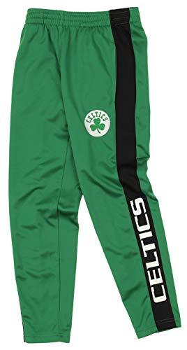 Outerstuff NBA Youth Boys (8-20) Side Stripe Slim Fit Performance Pant, Boston Celtics X-Large (18-20)