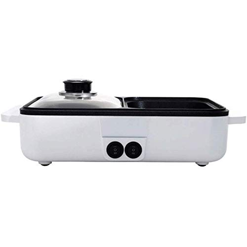 Great Features Of ZLSANVD Multifunctional Household Small Electric Hot Pot, Power Saving, Easy Operation, Can Be Used for Frying, Fried Eggs, Cooking, Grilling