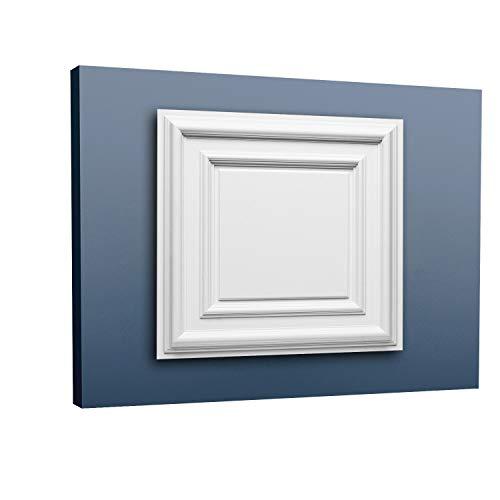 Placa decorativa 3D Orac Decor F30 LUXXUS Panel de techo para puerta o techo de poliuretano resistente 60 x 60 cm