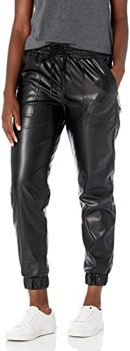 BLANKNYC womens Patch Pocket Jogger Pants Black Widow 24 US product image