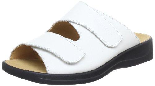 Ganter Monica, Weite G 5-202501-01000 Damen Clogs & Pantoletten, Weiß (weiss 0200), 40 EU (6.5 UK)