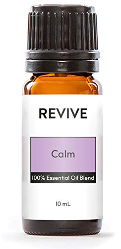 REVIVE Essential Oils - CALM 10mL - 100% Pure Therapeutic Grade, For Diffuser, Humidifier, Massage, Aromatherapy, Skin & Hair Care - Unrefined Oils With No Fillers