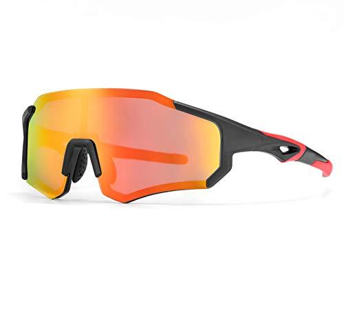 ROCKBROS Gafas de Sol Fotocromáticas/Polarizadas de Ciclismo Bicicleta Montaña Carretera MTB Protección...