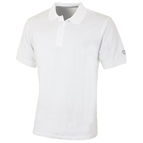 Island Green Chemise Polo Homme Performance Cotton Carbone Plus Foncé Taille M