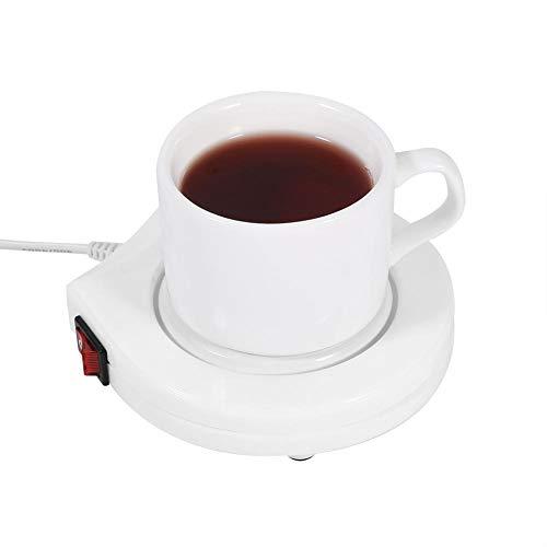 JULYKAI Mantenga la Temperatura 50 ℃ Taza de Taza, 110 V Taza de Calentador, cafetera Calentador de Taza Taza portátil para la Oficina en casa