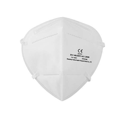 iCOOLIO 40 Stück ffp2 Maske ce Zertifiziert aus Deutschland, Mund und nasenschutz, Masken mundschutz ffp2, schutzmasken, Gesichtsmaske, atemschutzmaske