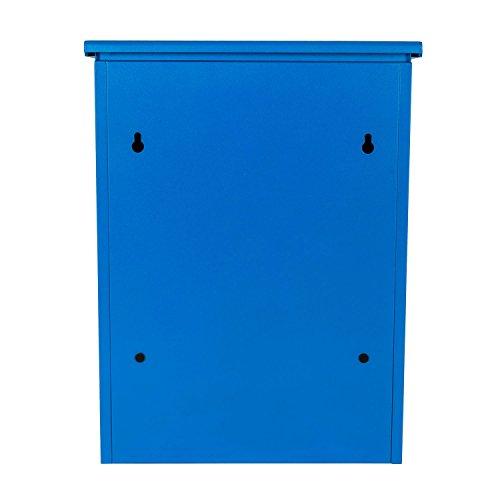 Paketbriefkasten Smart Parcel Box, blau - 8