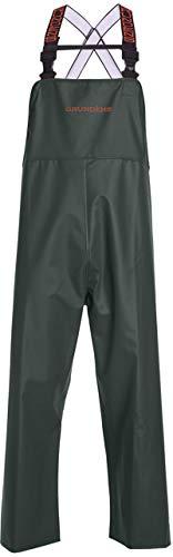 Grundéns Men's Shoreman Processing Bib Pants, Green - X-Large
