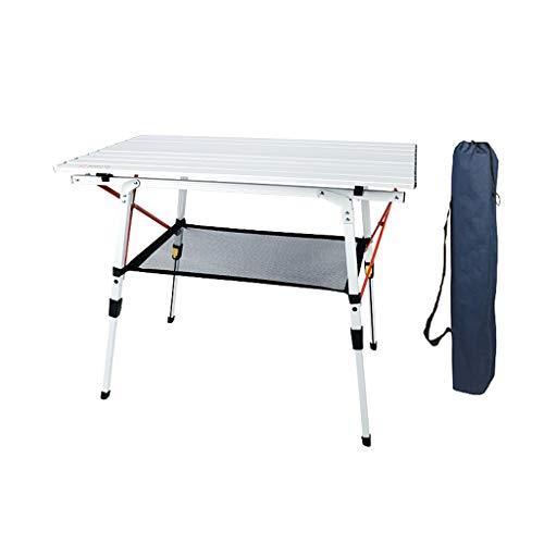 homelx Tragbaren Tisch Faltbare Camping Reisen Picknick im Freien Legierung ultraleichten Garten Terrasse Tisch