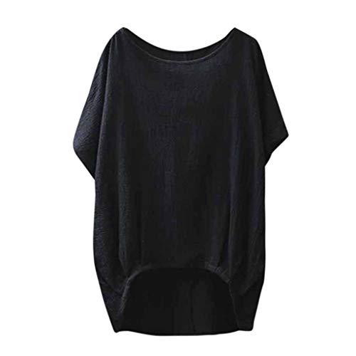 YEBIRAL Mujeres Casual Tallas Grandes Camiseta Camisa