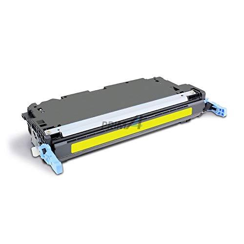 PrimA4 - C9732A amarillo tóner compatible para impresoras Rig HP 5500/5550, Canon LBP 2710 2810-12k copias