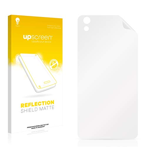 upscreen Entspiegelungs-Schutzfolie kompatibel mit Medion Life X5004 (MD 99238) (Rückseite) – Anti-Reflex Bildschirmschutz-Folie Matt