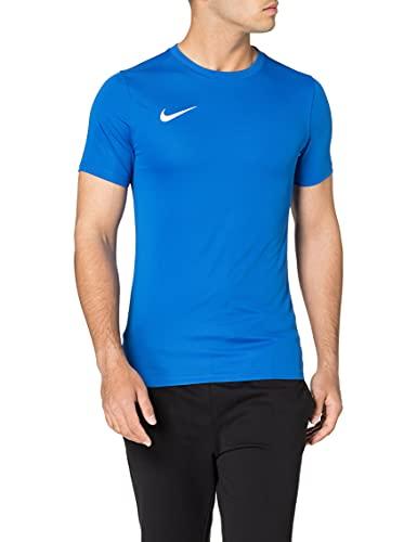 Nike M Nk Dry Park VII JSY SS, Maglietta a Maniche Corte Uomo, Blu (Royal Blue/White), XL